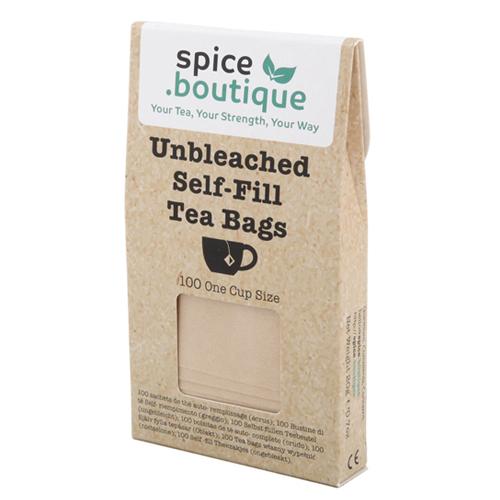 UNBLEACHED Self Fill Tea Bags